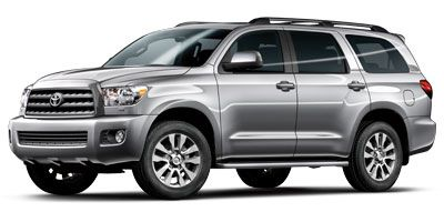 2013 Toyota Sequoia Limited (Super White)