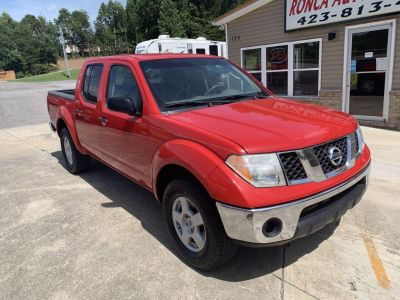 2005 Nissan Frontier SE (RED)