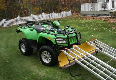 $1,760, 2005 Arctic Cat 500 4X4 With PlowWinch