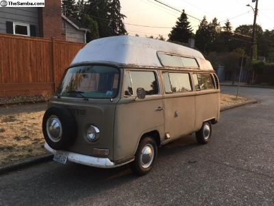 1970 VW Hightop Adventurewagon