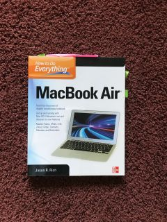 MACBOOK AIR INSTRUCTIONS How To Do Everything $10