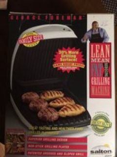 George Foreman GR26CB Family sized grill