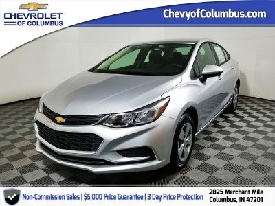 2018 Chevrolet Cruze LS (Silver Ice Metallic)