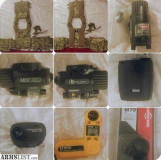 For Sale: plate carrier and shooting accessories