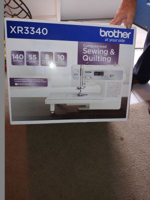 Brother Sewing and Quilting machine XR3340
