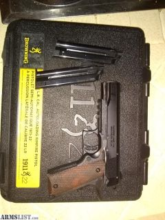 For Sale: Browning Black Label 1911-22