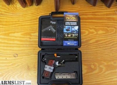 For Sale: NIB Sig Sauer 1911 BSS .45 ACP Pistol NEW 45ACP