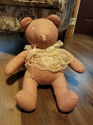 Handmade and stitched Teddy