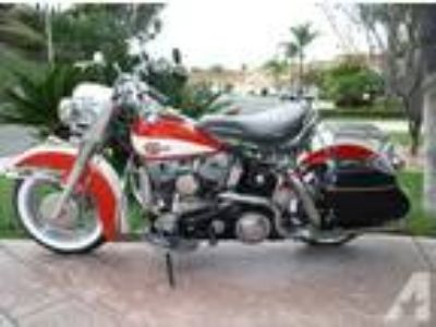 1960 Harley Davidson Flh Duoglide Panhead Vintage with Shipping
