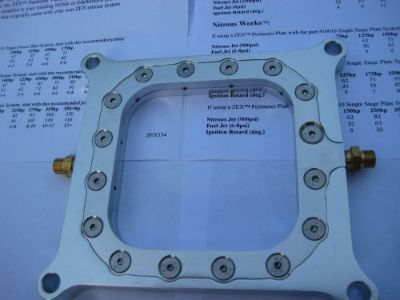 Purchase NOS/NITROUS/NX/EDELBROCK/HOLLEY/ZEX-COMPETITION PERIMETER PLATE KIT 50-400HP-NEW motorcycle in North Attleboro, Massachusetts, United States, for US $116.97