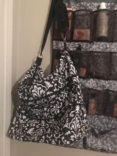 Expandable thirty-one tote.