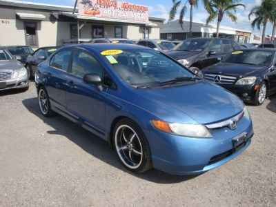 2006 Honda Civic DX (Blue)