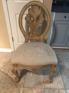 Heavy dining chairs