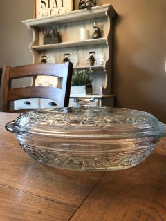Glass Casserole Baking Dish