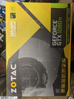 For Sale: Gtx 1080 TI 11gb