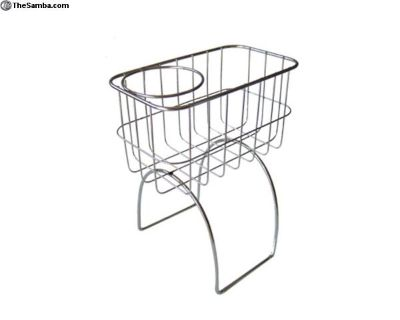 Stainless Hump Basket Cup Holder - Beetle and Bus