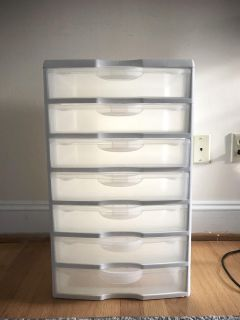 MOVING!! NEEDS TO GO BY SATURDAY!!7 Drawer Storage Tower.