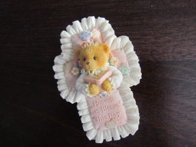 Cherished Teddies Cross/Necklace
