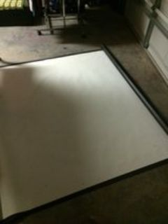 6 x6 projection screen