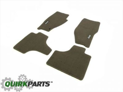 Find 2008-2010 Jeep Liberty Carpeted Floor Mats Set of 4 Dark Pebble Beige MOPAR NEW motorcycle in Braintree, Massachusetts, United States, for US $71.54