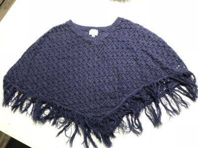 Justice Navy Blue Poncho