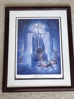 Ron Dicianni framed prints: Spiritual Warfare and Angels Unseen