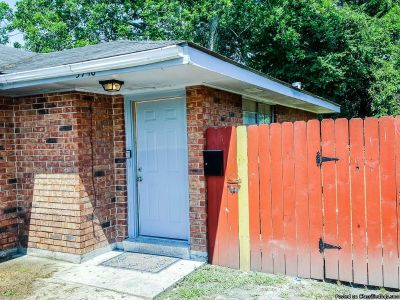 2 Beds/1 Bath, Half Of Duplex For Rent. Fenced Yard, No Carpet, Refrigerator And Stove Included