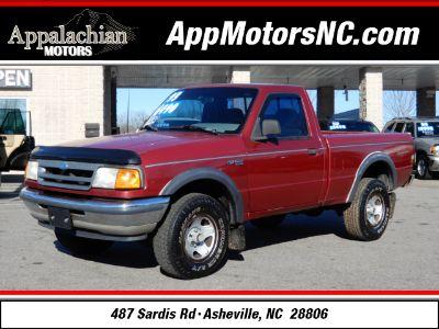 1993 Ford Ranger XLT (Red)