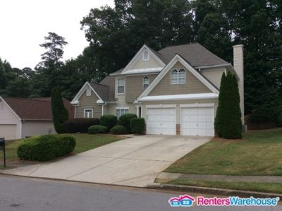 Master on the main level home in Suwanee