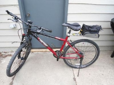 "$300 OBO Gary Fisher Tassajara 17.5"" Mountain Bike with lots of extras"