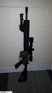 For Sale: Custom Quentin Defense Side Charging AR15