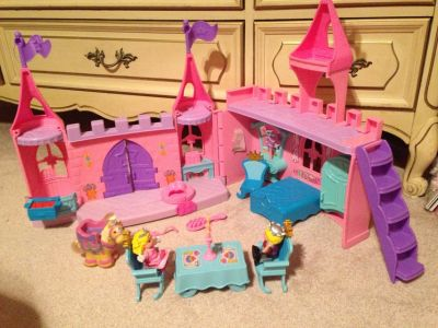 Fisher Price Fold and Go Castle