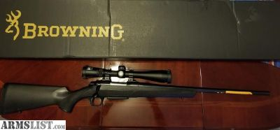For Sale: Browning A bolt III with a Nikon