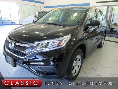 2015 Honda CR-V LX (Crystal Black Pearl)