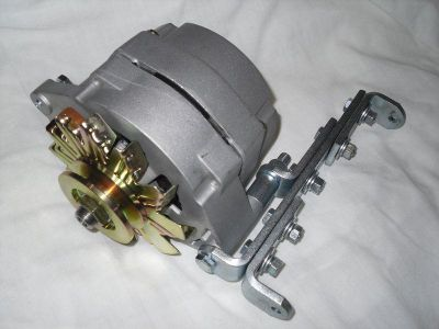 Buy Tractor car 6 volt 55 amp 1 wire alternator Positive Ground w/Bracket & pulley motorcycle in Iola, Kansas, US, for US $129.95