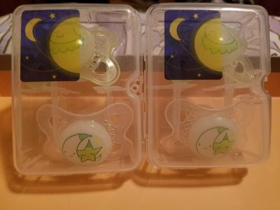 New Mam pacifiers size 0-6 months