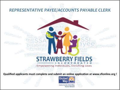 Representative Payee/ Accounts Payable