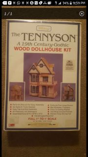 Tennyson A 19th Century-gothic Wood Doll House Kit By Whitney Scale 1:12 Brand New Factory Sealed In the Box