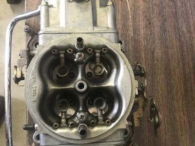 Holley 750 HP gas carb