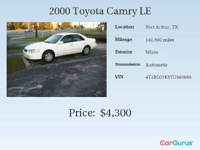 Toyota Camry 2000 - Low Mil