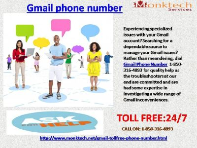 Recover Gmail Password with the Aid of@ Gmail Phone Number 1-850-316-4893