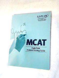 $10 OBO Kaplan MCAT Test Prep High Yield Problem Solving Guide
