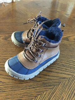 Toddler Boy Winter/Snow Boots-Size 7