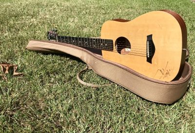 Baby Taylor autographed by Tim McGraw