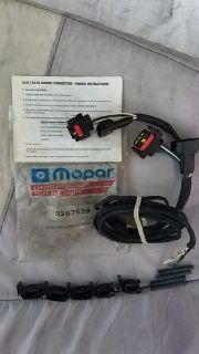 Buy NEW Mopar 5267529 WIRING HARNESS for trailer lights. Chrysler Plymouth Dodge motorcycle in Hood River, Oregon, United States, for US $14.95