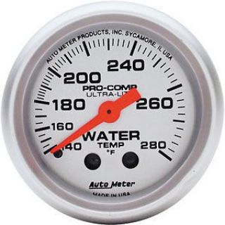 Sell AutoMeter 4331 Ultra-Lite Water Temperature Gauge motorcycle in Suitland, Maryland, United States, for US $96.90