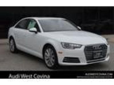 Used 2017 Audi A4 White, 18.9K miles