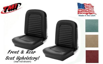 Sell Front and Rear Seat Covers Made in USA by TMI, 1966 Ford Mustang Convertible motorcycle in Los Angeles, California, United States, for US $308.99