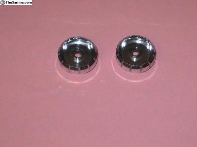radio chromed plastic tuning knobs