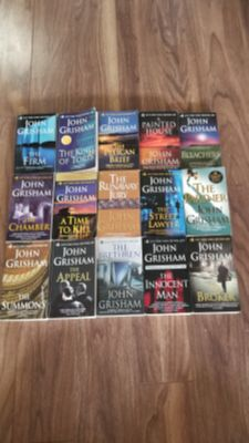 John Grisham Soft Covers